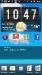 Xperia Arc S Startbildschirm